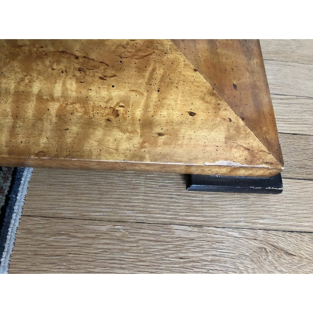 1970s 20th Century Biedermeier Style Center Table For Sale - Image 5 of 6