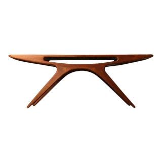 Johannes Andersen Mid-Century Modern Teak Coffee Table For Sale