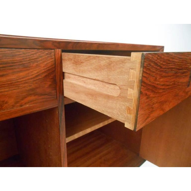 Danish Modern Rosewood Cabinets - a Pair For Sale In New York - Image 6 of 10
