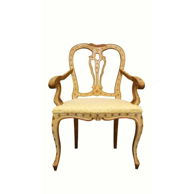Queen Anne Style Accent Chair - Image 2 of 9