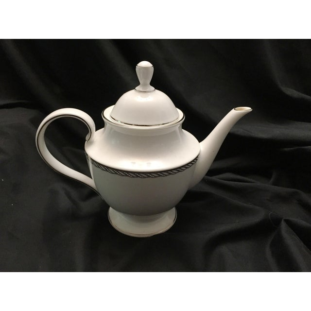 Lenox China Serpentine Teapot - Image 5 of 8