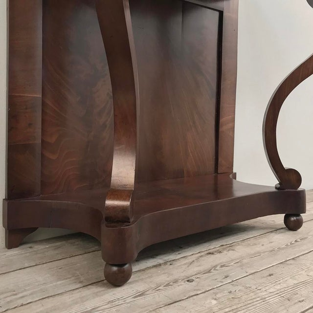 19th Century French Louis Philippe Console For Sale - Image 9 of 12