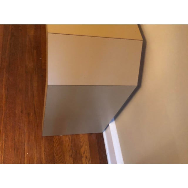 1980s Sculptural Console Table For Sale - Image 5 of 8