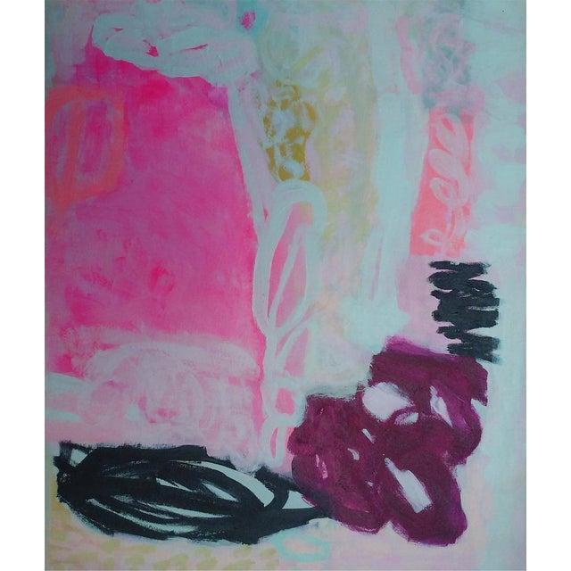 "Susie Kate ""Pink Crush"" Original Painting - Image 1 of 2"