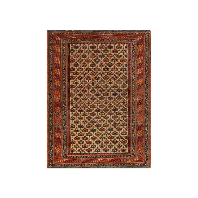 Textile Antique Caucasian Rug For Sale - Image 7 of 7