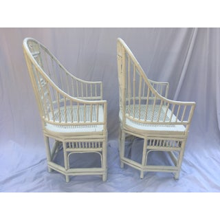 1970s Vintage Brighton Style Chinese Chippendale Chairs - A Pair Preview