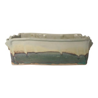 1970s Organic Modern Ocmulgee Studio Pottery Planter For Sale
