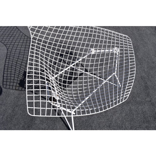 "Mid-Century Modern ""Bird"" Chair by Harry Bertoia for Knoll For Sale In San Diego - Image 6 of 8"