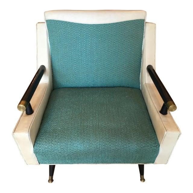 Mid Century Atomic Era Club Chair - Image 1 of 6