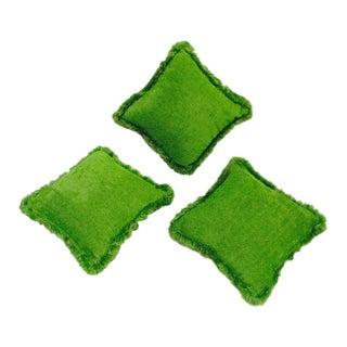 Moroccan Bohemian Lime Green Pillows - 3