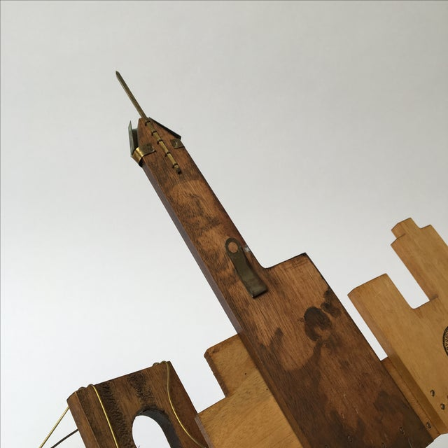 Vintage Wooden Wall Sculpture - Image 7 of 10