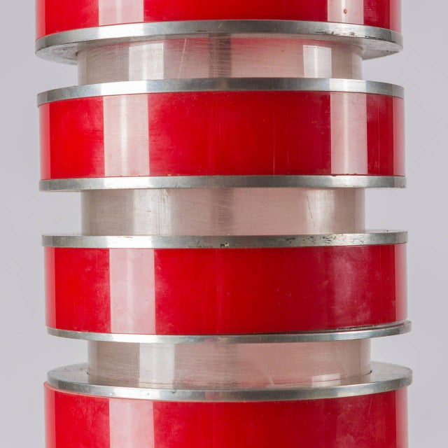 Acrylic Rare Table Lamp by Ingrid Hsalmarson for New Lamp For Sale - Image 7 of 10