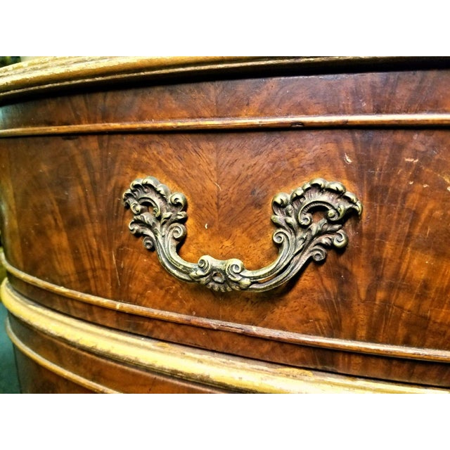 Antique Louis XV Marquetry Inlaid Commode Nightstand For Sale In New York - Image 6 of 8
