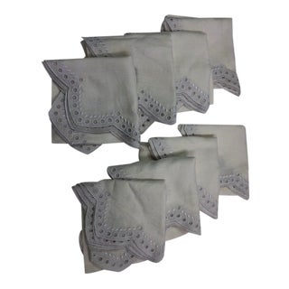 Kim Seybert Tapestry Napkins - Set of 8 For Sale