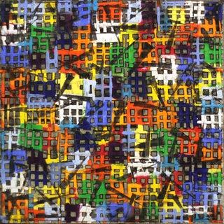 """Abstract Original Artwork, """"Color Block 15-12"""" by Petra Ros-Nickel For Sale"""