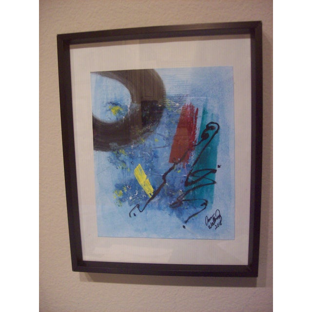 """""""The Corner of My Mind"""" Abstract Painting For Sale - Image 5 of 5"""