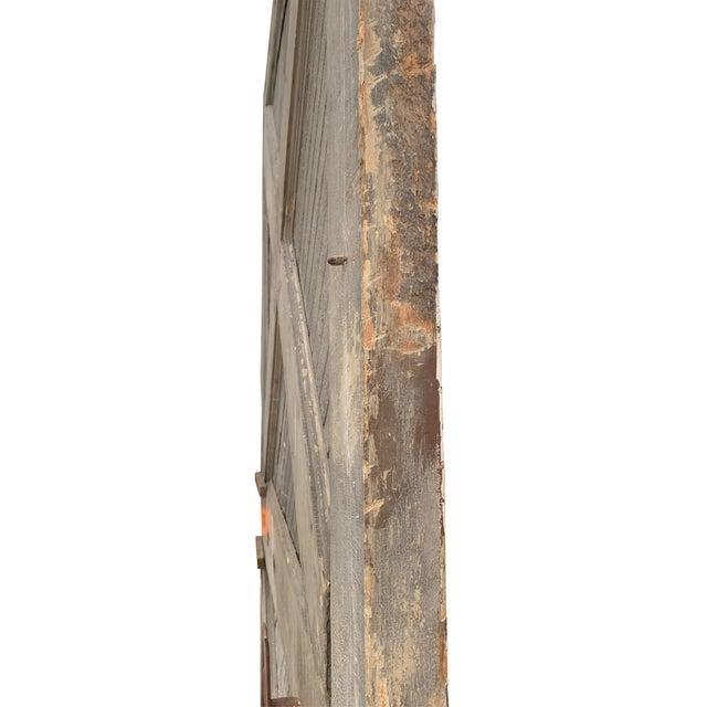 19th Century Vintage American Barn Door For Sale - Image 4 of 13