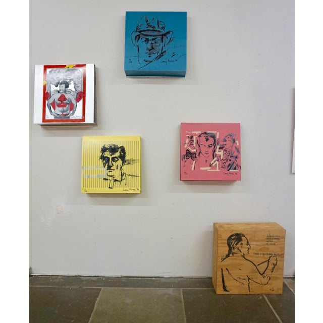 Larry Rivers Steel Painted Pieces in Original Plywood Box- Set of 4 For Sale - Image 9 of 10