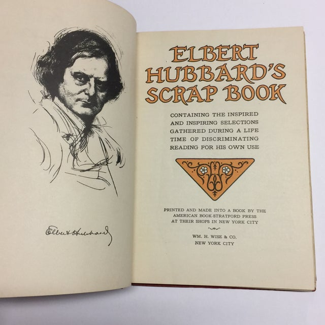 1920s 1923 Elbert Hubbard's Scrap Book For Sale - Image 5 of 11