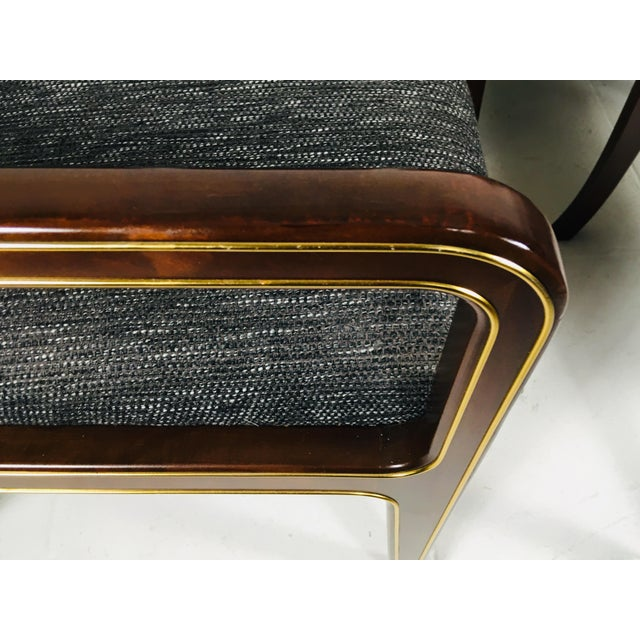1970s 1970s Vintage Baker Furniture Company Dining Room Chairs- Set of 6 For Sale - Image 5 of 13