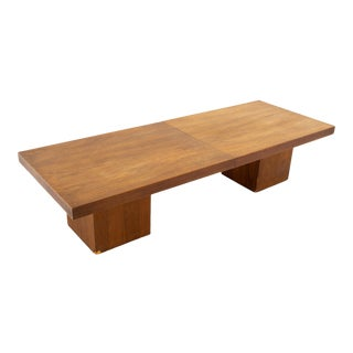 John Keal for Brown Saltman Mid Century Expanding Coffee Table For Sale