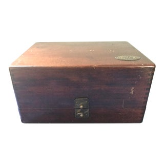 Vintage s.s. White Dental Manufacturing Company Zinc Cement Supply Box For Sale
