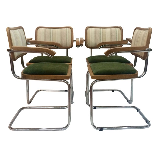 Marcel Breuer Cesca Chairs by Knoll - Set of 4 - Image 1 of 6