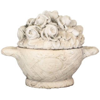 French Marble Garden Ornament For Sale