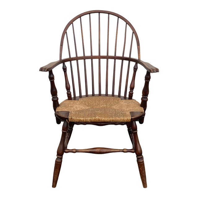 Antique Sack Back Windsor Chair For Sale