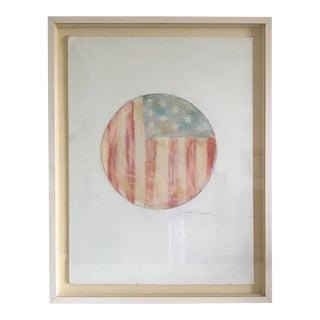 Moving Sale - 1997 Ralph Lauren American Flag Painting