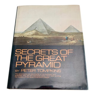 1971 Secrets of the Great Pyramid First Edition Book For Sale