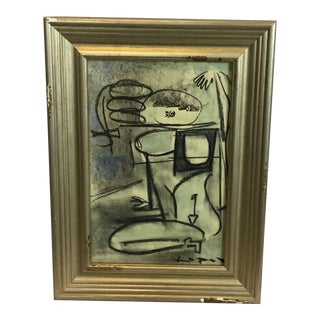 Lucia Lopez Cubist Nude Study #17 For Sale