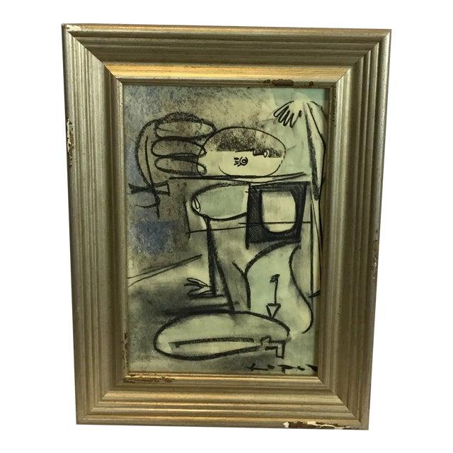 Lucia Lopez Cubist Nude Study #17 For Sale