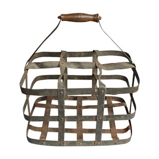 French Wine Cellar Caddy For Sale