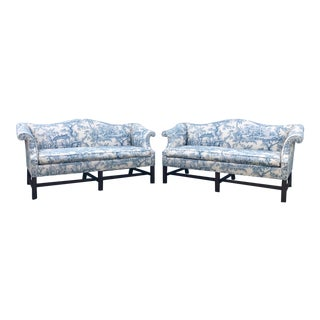Wood & Hogan Chippendale Loveseats - A Pair For Sale