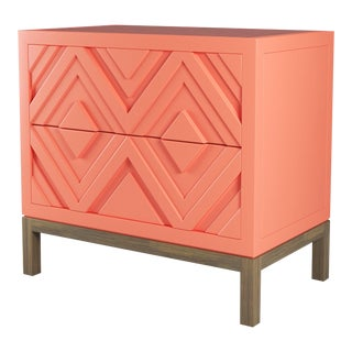 Susana Side Table - Coral Gables, Weathered Gray Oak For Sale