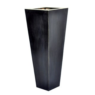 Giant Pyramid Steel Box Planter For Sale