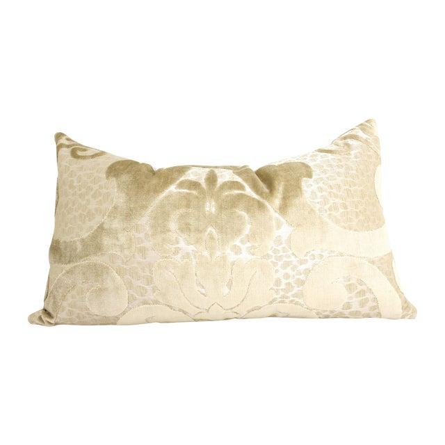 Cut Velvet Damask Pillow - Image 1 of 3