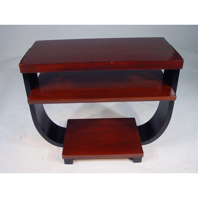 Art Deco Art Deco Three-Tier Side Tables by Brown Saltman - A Pair For Sale - Image 3 of 5