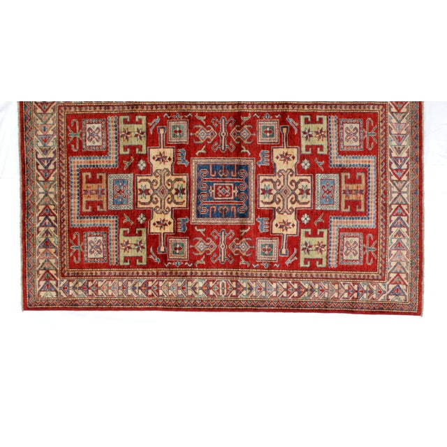 "Islamic Leon Banilivi Khotan Ghanzi Wool Rug - 3'9"" X 6'3"" For Sale - Image 3 of 7"