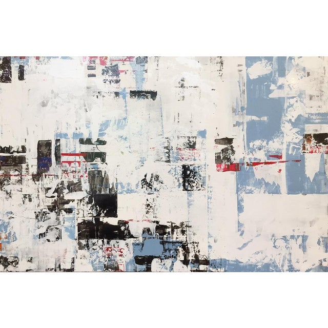 Ned Martin, East River (Horizontal Diptych) Painting, 2018 For Sale - Image 9 of 10