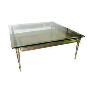 Mid 20th Century Vintage John Vesey Style Coffee Table For Sale
