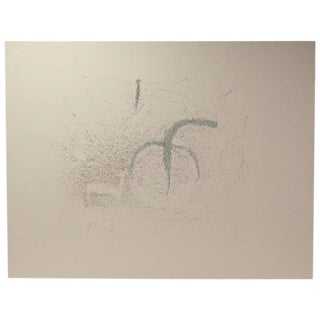 Large Modern Minimalist Abstract Forms Lithograph Signed Richard Small For Sale