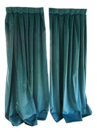 Image of Velvet Curtains