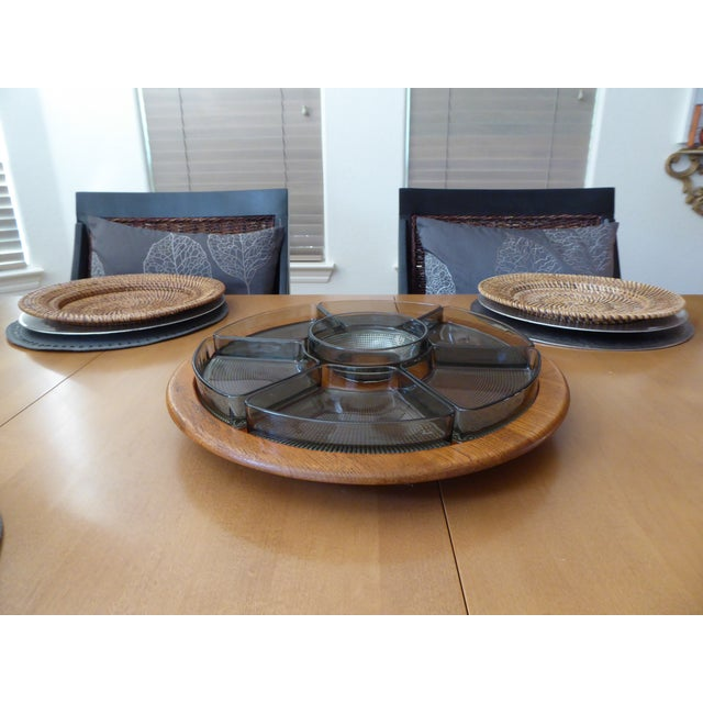 1960's Rare Digsmed Danish Server Lazy Susan - Set of 7 - Image 5 of 11
