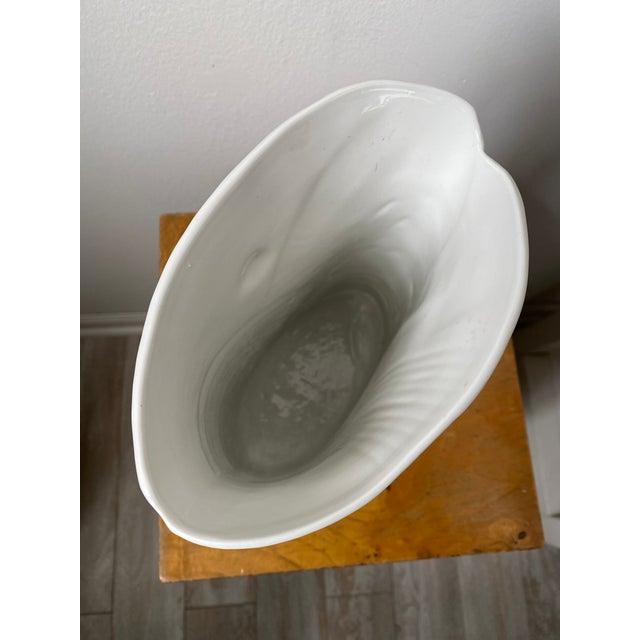 Swedish Porcelain Rorstrand Vase by Bertil Vallien For Sale - Image 10 of 13