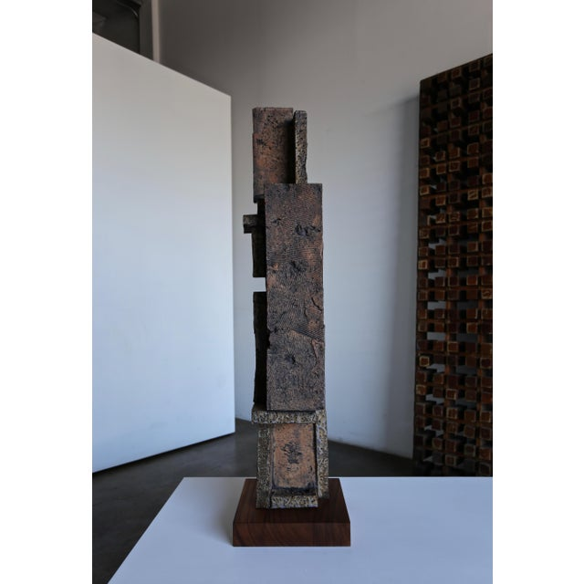Tim Keenan Large Scale Ceramic Sculpture For Sale In Los Angeles - Image 6 of 13