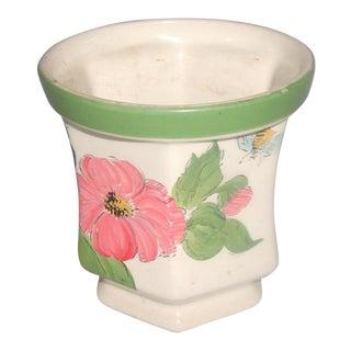 Vintage Hand Painted Brasilian Weiss Vase