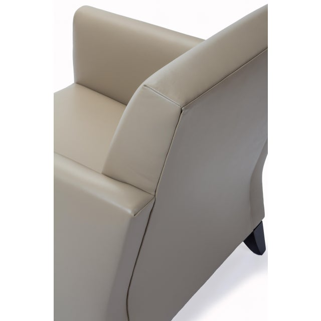 Princeton Leather Reading Chair - Image 4 of 5