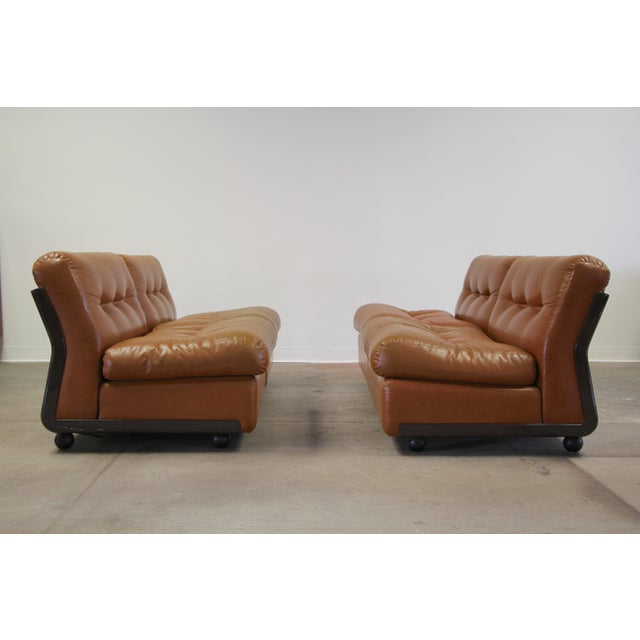 Mario Bellini Amanta Sofa for B&B Italia circa 1970s. The four separate modules can be arranged in a number of fashions....
